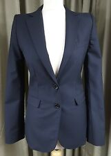 D&G Dolce & Gabbana Wool/Silk Blazer Jacket EU40 UK10