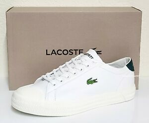 Lacoste Brand Gripshot 0120 1 Men's Fashion Casual  Shoes Sneakers White Green
