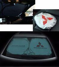 For Mitsubishi Front Car Window Foldable Sun Shade Shield Cover Visor UV Block