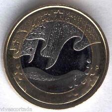 """5 Euros Finlandia 2012  """" Aurora Boreal """" @@ NOVEDAD @@ bimetalica"""