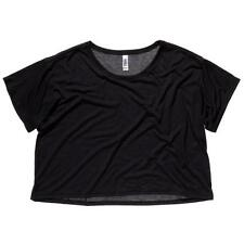 Women's Polyester Crew Neck Casual Tops & Shirts