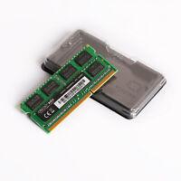 8GB 4GB 2GB DDR3 PC3 10600S 1333MHz 204pin  Laptop  Memory Ram  SODIMM