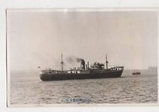 SS Leonian Plain Back Photo Card Shipping 108a