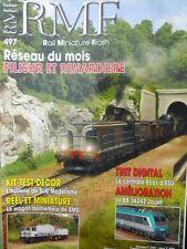 RMF - Rail Miniature Flash n°497 - Réseau Filisur et Renardiere [TR.31]