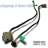 AC DC POWER JACK CABLE SOCKET FOR HP Pavilion15-as010ca 15-as020nr 15-as043cl