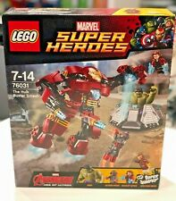 LEGO Marvel Super Heroes The Hulk Buster Smash 76031 - NEW - Sealed - FREE P&P