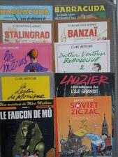 Lot de 10 BD Soviet Zig Zag  La seconde guerre Mondiale Stalingrad Banzai Barakk