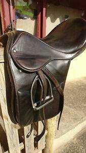 Stubben  Parzival Brown Dressage saddle