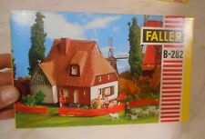 Vintage Faller HO B-282 Farm House Kit In Original Box