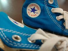 Converse Toddler  All Star Sneakers Size 5 Rare Caribbean Blue High Cut Used