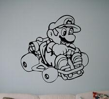 Super Mario Wall Vinyl Decal Video Game Vinyl Sticker Superhero Home Interior 18