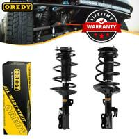 Pair Front Quick Complete Struts & Coil Spring Assembly For Toyota Camry 02-03