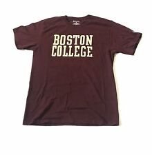 Boston College Champion T Shirt Maroon Men's Sz Medium