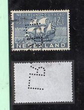 Holanda Valor con perforación comercial L.R. año 1934 (CG-584)