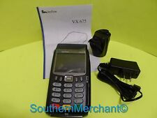 Verifone Vx675, v3,192Mb  GPRS 3G Printer/PIN Pad/SCR/CNTLS w/ Base for download