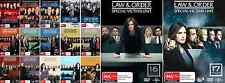 Law And Order - Special Victims Unit : COMPLETE Season 1 - 17 : NEW DVD