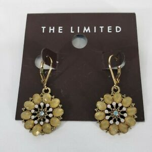 The Limited Earrings Circle Dangle Yellow