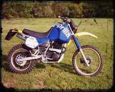 Aprilia Tuareg 350 Wind 86 02 A4 Metal Sign Motorbike Vintage Aged