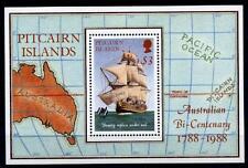 "Segelschiff ""Bounty"". Block. Pitcairn 1988"