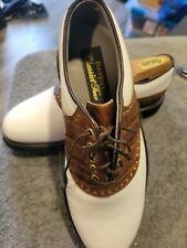Foot-Joy Classics Men's Golf Shoes Size 8D WORN ONE TIME-INCLUDES SHOE TREES.