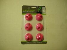 Cable Management Turtle Snaps By DMM, Pink, 6 Pack, Brand New