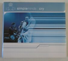 SIMPLE MINDS ~ Cry ~ CD SINGLE & DOUBLE SIDED MINI POSTER