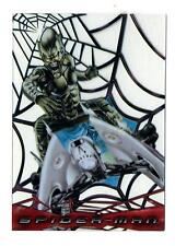 Topps 2002 Spider-Man Movie Cards Web-Shooter Clear Chase Card C5 Green Goblin