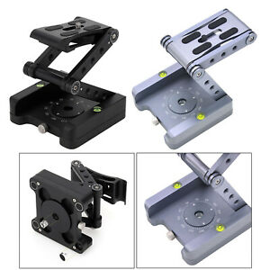 360° Rotating Folding Camera Bracket Tripod Pan Head for DSLR Stabilizer
