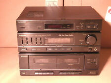 Vintage Pioneer RX-Z15 AM/FM Stereo Receiver dual cassette surround sound WORKS