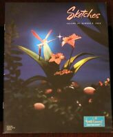 Fantasia Dew Drop Fairies 2002 Walt Disney Sketches Magazine WDCC 50th Anniv.