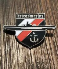 WWIl WW2 German Kriegsmarine U boat Military Navy enamel pin badge medal