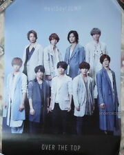 Hey! Say Jump OVER THE TOP 2017 Japan Promo Poster (HSJ)
