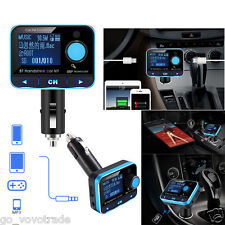 Bluetooth Kit MP3 Player Car FM Transmitter Wireless Radio Adapter USB Charger