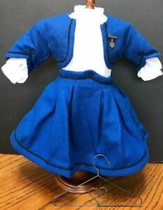 AMERICAN GIRL DOLL ADDY SCHOOL SUIT AND BLOUSE PLEASANT COMPANY EX. CONDITION