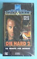 VHS Film Ita Azione DIE HARD 2 58 Minuti Per Morire Bruce Willis no dvd cd (V0)