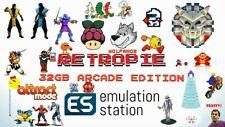 Raspberry Pie RetroPie Wolfanoz Arcade 32gb GB MAME for Raspberry Pi 3 B B+.