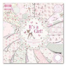 Dovecraft Primera Edición 12x12 es una chica Completo Pack-Cardmaking & Scrapbooking