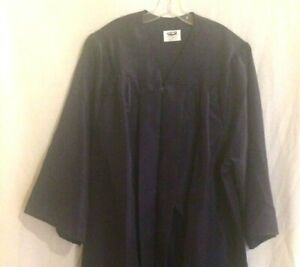Jostens Navy Blue Graduation Gown, Height 5'7- 5'9, Excellent Used Condition