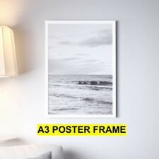 A3 Frame WHITE Photo Frame Picture Poster Frames with styrene sheet as glass
