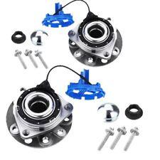 For Saab 9-3 2002-2012 Front Hub Wheel Bearing Kits Pair Inc ABS Sensor