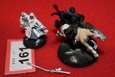 Games workshop señor de los Anillos LOTR Gandalf el Blanco pie montado Metal GW