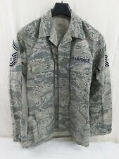 US USAF ACU Coat Combat Tarn Jacke Feldjacke Size 40L Digital Feldhemd