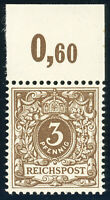 DR 1889, MiNr. 45 e, tadellos postfrisch, gepr. Wiegand, Mi. 65,-