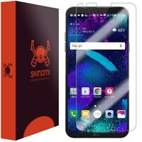 Skinomi Clear Screen Protector Film Cover For LG Q6