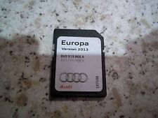 AUDI SAT NAV NAVIGATION SD CARD 2013 SATELLITE NAVIGATION DISC A1 A3 EUROPE RMC