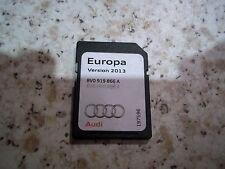 AUDI SAT NAV NAVIGATION SD CARD 2013 SATELLITE NAVIGATION DISC A1 A3 EUROPE RMC