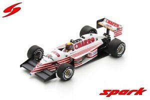 Spark 1:43 S7221 1987 F1 AGS JS22 GP Australien (R. Moreno) #14 - NEU!