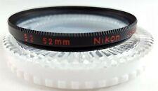 NIKON 52mm Blue Light B2 Filter in Case