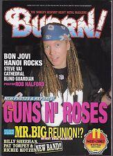 11/2002 issue of BURN! magazine  GUNS N' ROSES cover  great JAPANESE magazine