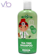 CIRCLE OF FRIENDS Tea Tree Shampoo For Kids 8oz NO PARABENS, Made in USA